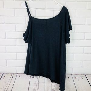cb0f82332cb Free People Tops - Free People Coraline Cold Shoulder Top Oversized M